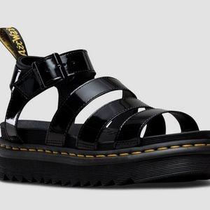 Blaire Patent Dr. Marten Sandals